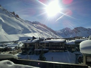 Tignes, 2-room atypical apartment for 6 persons in the 'Espace Killy' resort