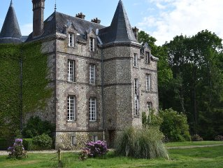 In Chateau Le Perche - Located in the forest.