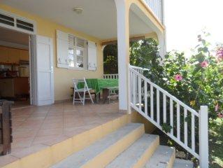 Villa  Alamanda pour 2-4 personnes à moins de 50 mètres de la mer des Caraïbes