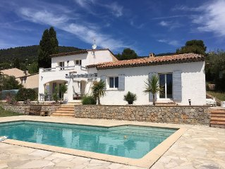 Charming Villa 8 rooms with private pool overlooking the hills