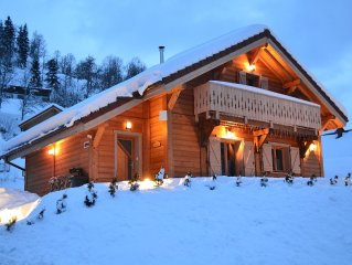 CHALET NEUF 6/8 PERSONNES CHARGES INCLUSES