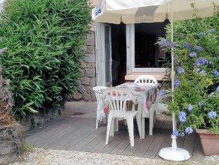 Valras plage Appt T2 RdC de villa avec terrasse de jardin et cour