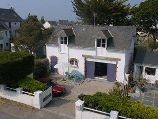 3km from La Baule 'The house mauve' Batz sur mer