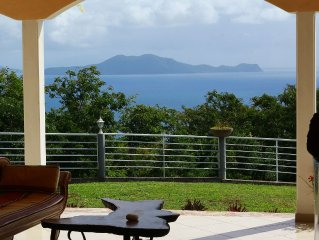 VILLA D'EXCEPTION - A haven of peace facing the Caribbean Sea 6 people