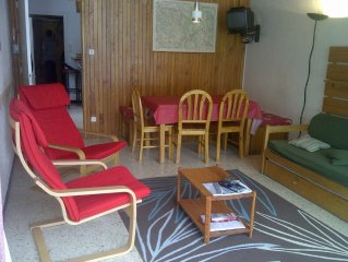 Apartment south middle station Serre Chevalier 1400