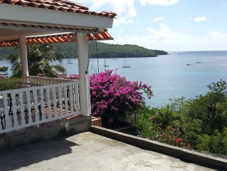 charm and stunning view for this splendid villa in Grande Anse !!!!