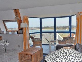 A Trégastel baie Sainte Anne appartement classé 3*** vue mer 2 chambres
