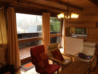 Charming mountain chalet Mount gilds the foot of altitude 1150 meters sancy