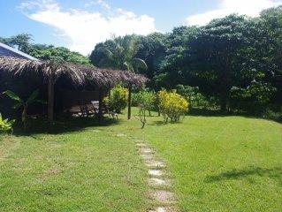 Bungalow confortable à 300 mètres de la plage en Guadeloupe (4 personnes)