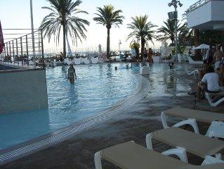 SOL WAVE HOUSE Hotel 4 etoiles et appartements a louer Magaluf Majorque Baleares