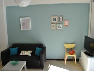 Charming studio 30m2 Nice city center