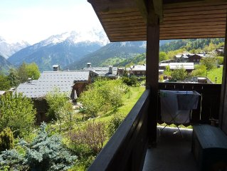 Apartment in chalet in Le Praz