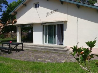 maison de vacance agreable avec jardin arbore