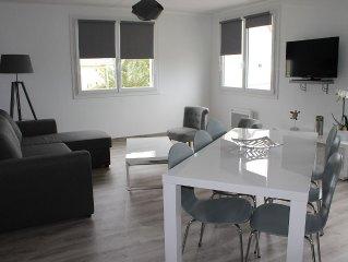 Bel Appartement Moderne proche de la plage du sillon a Saint-Malo T3 80M2