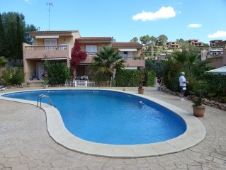 House for 5/6 people 10 minutes from the beach of Cala Romantica