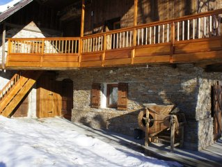 Apartment in a traditional, warm, and comfortable chalet