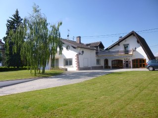 Obernai beautiful renovated villa, bright of 180 m2 any comfort for 2-8 p