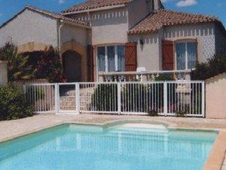 Location maison individuelle avec piscine à Vias pour vacances