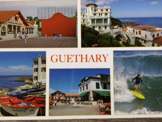 150m2 duplex south, standing in Guethary, 7 couch 200m center and 300m beaches
