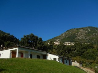 Superb air-conditioned villa Sea and Mountain view