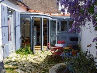 3 chambres, terrasse, proximité plage, parcs et centre La Rochelle