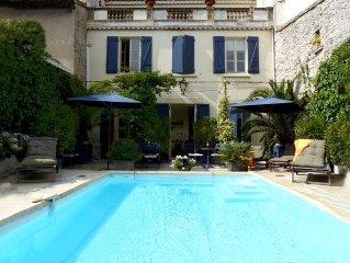 Hotel particulier avec piscine au coeur de Carcassonne