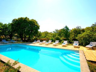 LOVELY BASTIDE PROVENCALE 5* - Surroundings idyllic -Heated pool boulodrome
