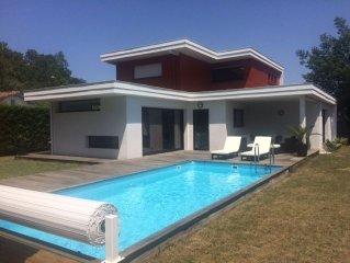 architect villa near the beach