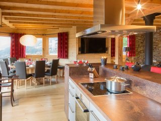 Beautiful chalet for 12 persons located in the center of Châtel