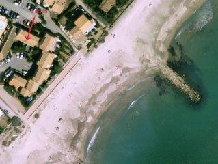 Maisonnette F3  à 25 mètres de la mer à Frontignan plage