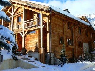 Appartement de caractere dans chalet au pied des pistes Serre Chevalier 1400