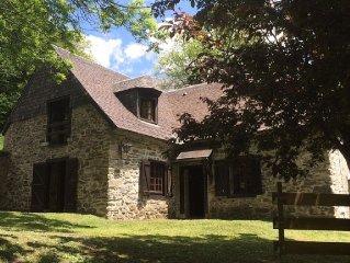 Maison ancienne en pierre , 10 personnes , a 10 min de St Lary et Piau Engaly