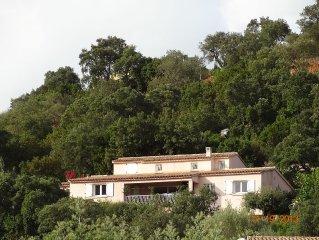 Location villa confortable 8 à 10 personnes à Tarco bord de mer