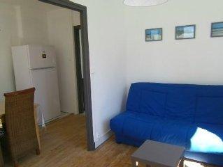 Appartement très ensoleillé T2 avec 2 balcons - A 200m de la plage - Berck