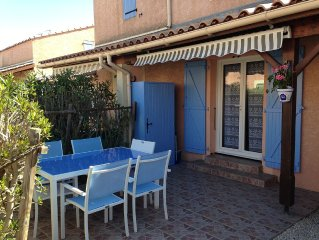 VILLA VIAS BEACH SEASIDE 45 m2 - 6 Pers- Re secure - AC