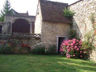 charme et confort de la campagne au sein des chateaux de la Loire.