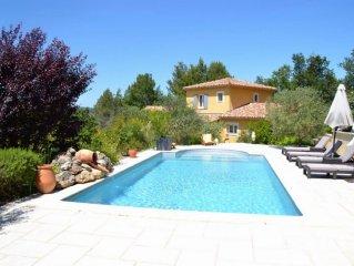 Belle villa provencale avec piscine privee a 5 mn de Vaison la Romaine