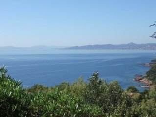 Plage a 300m. Vue mer panoramique - calme - WIFI