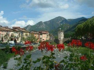 Appartement +jardin +terrasse +Wifi  entre Mer/Montagne proche Menton/Nice
