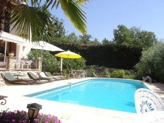 Libre a partir du 23 septembre maison piscine chauffee/calme/proche de la mer
