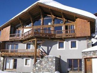 Appartement de 140m2 dans chalet avec spa et sauna