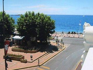 Appartement F2 au bord de mer.50m de la plage.CENTRE VILLE. 4 étoiles ****  WIFI