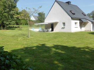 Maison dans un village très calme pour toute la famille