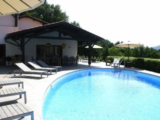 House in Olhette for 14 persons. with a 12 m pool and a large terrace
