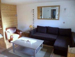 Bourg St Maurice:charmant appartement pour 4 personnes. Alt 900 m à Seez