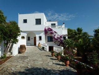 Grande villa bord de mer avec piscine privee 1h30 d'Athenes pour 10/12 personnes