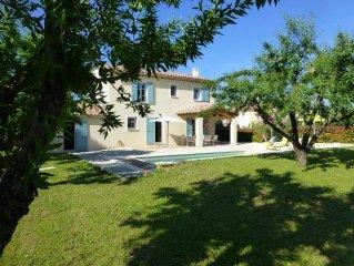 Villa 3 etoiles avec piscine a Saint-Didier