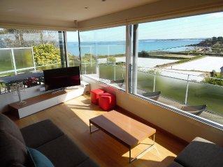 UNIQUE : Villa D'architecte Haut De Gamme Surplombant La Mer
