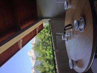 Appartement tout confort, spacieux, un cadre calme, superbe vue sur l'Obiou