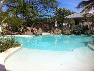 Un vrai petit paradis! Bungalow de charme avec piscine de rève